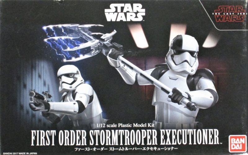 BANDAI 1/12 0219753 FIRST ORDER STORMTROOPER EXECUTIONER STAR WARS