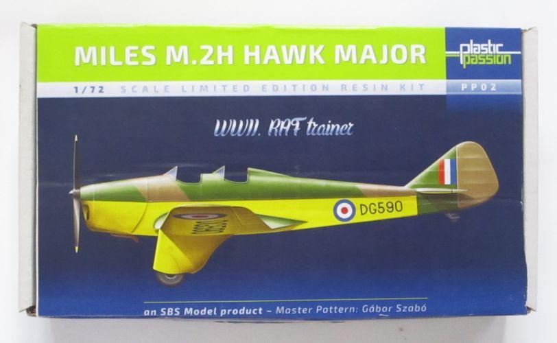PLASTIC PASSION 1/72 PP02 MILES M.2H HAWK MAJOR