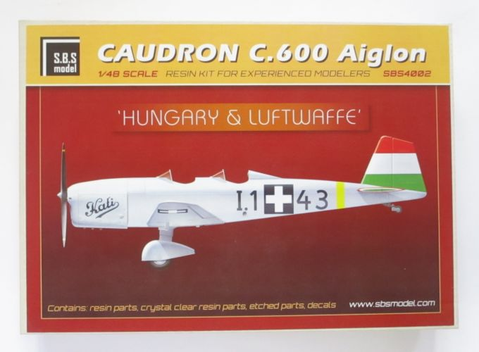 SBS MODEL 1/48 4002 CAUDRON C.600 AIGLON