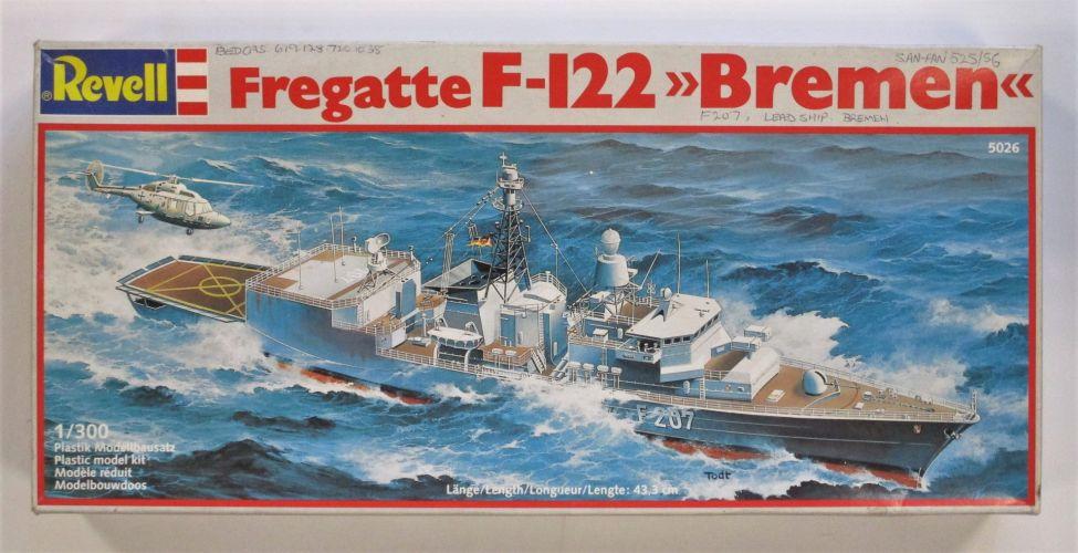 REVELL 1/300 5026 FREGATTE F-122 BREMEN