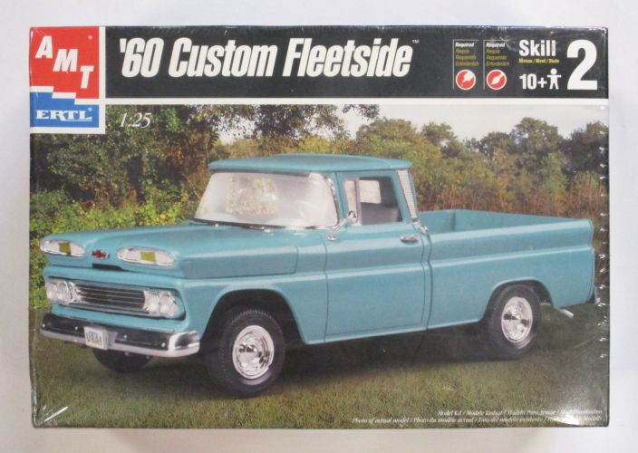 AMT 1/25 6310 60 CHEVY CUSTOM FLEETSIDE