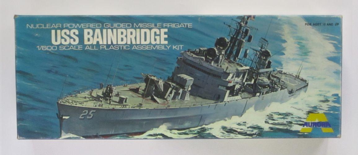 AURORA 1/600 717 USS BAINBRIDGE