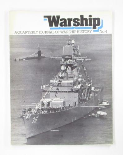 CHEAP BOOKS  ZB3474 WARSHIP NO 4 A QUARTERLY JOURNAL OF WARSHIP HISTORY