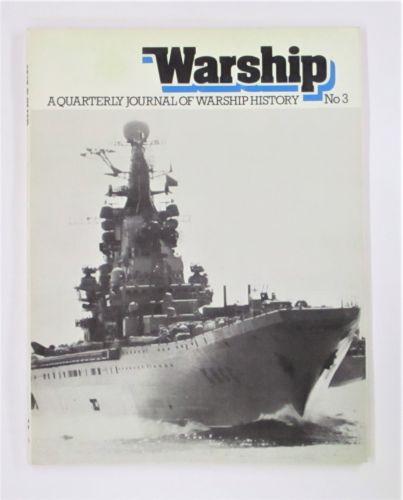 CHEAP BOOKS  ZB3473 WARSHIP NO 3 A QUARTERLY JOURNAL OF WARSHIP HISTORY