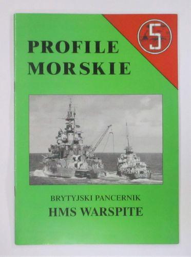 CHEAP BOOKS  ZB3472 PROFILE MORSKIE 5 HMS WARSPITE  POLISH TEXT