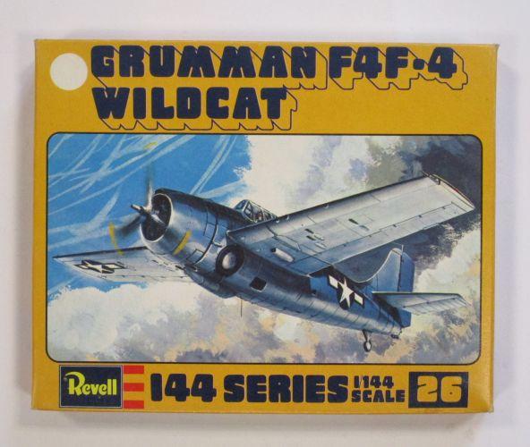 REVELL 1/144 1026 GRUMMAN F4F-4 WILDCAT