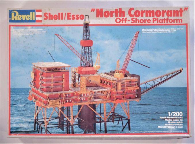 REVELL 1/200 08200 SHELL/ESSO NORTH CORMORANT OFF-SHORE PLATFORM