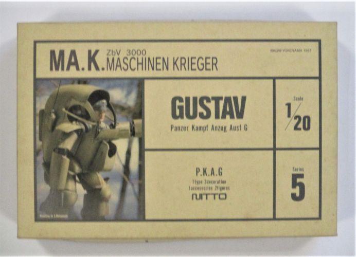 NITTO 1/20 24106 GUSTAV PANZER KAMPF ANZUG AUSF G MASCHINEN KRIEGER