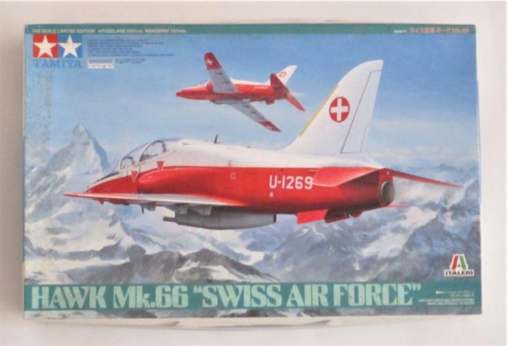 TAMIYA 1/48 89784 HAWK MK.66 SWISS AIR FORCE