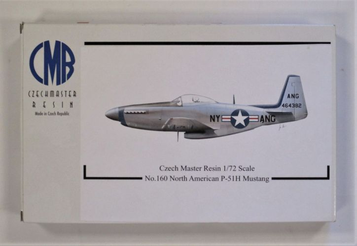 CZECH MASTER RESIN 1/72 160 NORTH AMERICAN P-51H MUSTANG