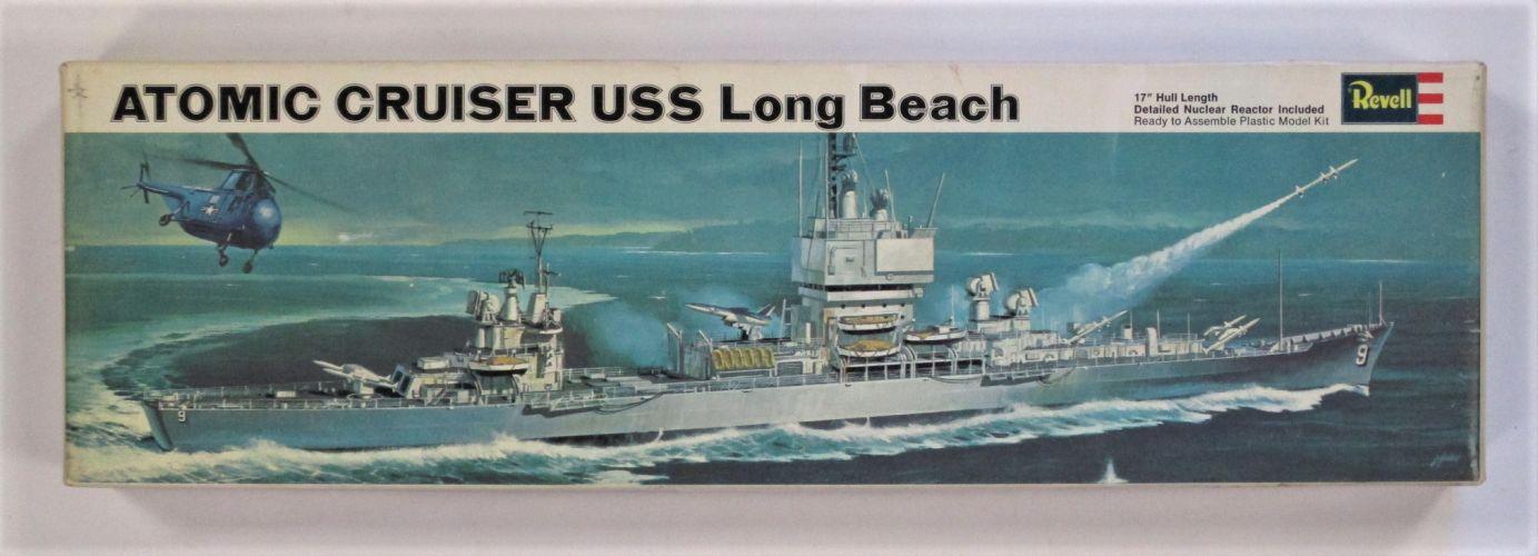 REVELL 1/508 460 ATOMIC CRUISER USS LONG BEACH