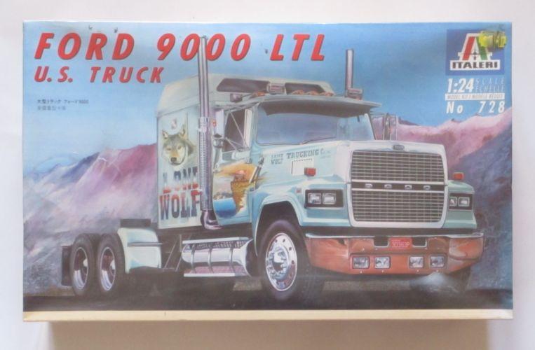 ITALERI 1/24 728 FORD 9000 LTL U.S. TRUCK