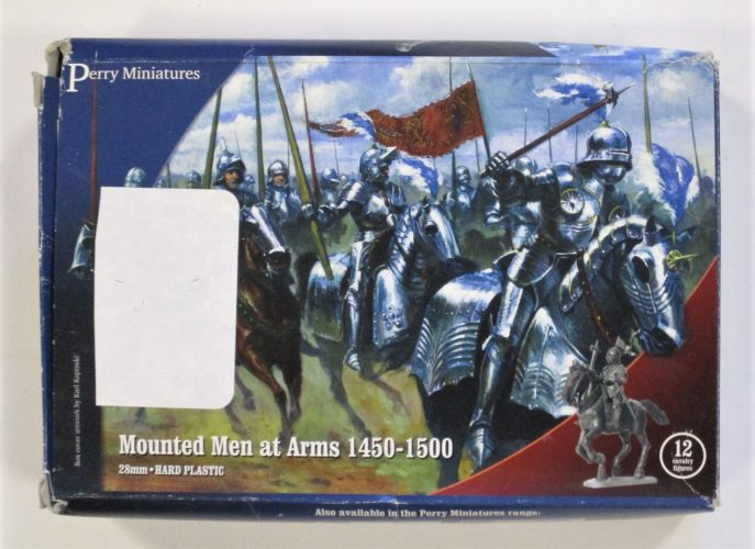 PERRY MINIATURES  MOUNTED MEN AT ARMS 1450-1500 28MM