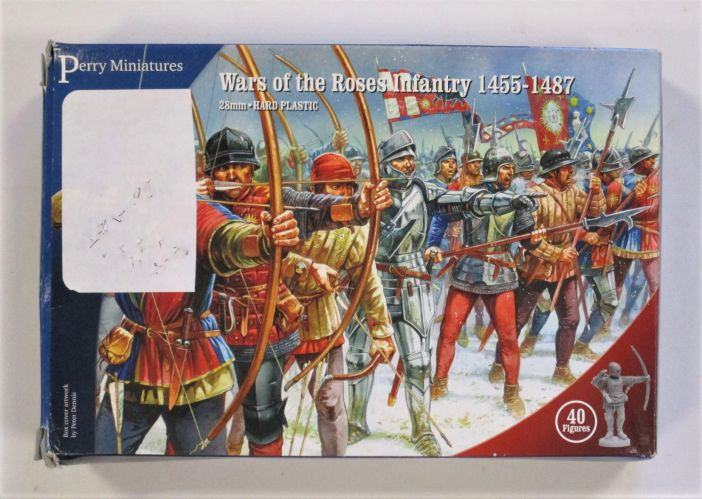 PERRY MINIATURES  WARS OF THE ROSES INFANTRY 1455-1487 28MM
