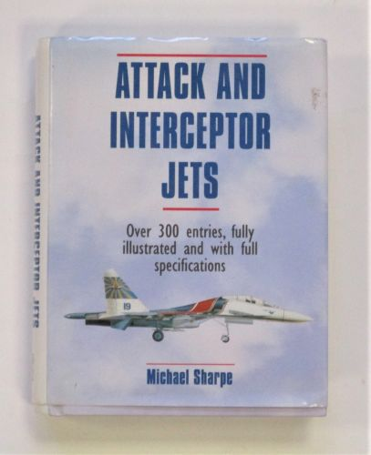 CHEAP BOOKS  ZB3434 ATTACK AND INTERCEPTOR JETS