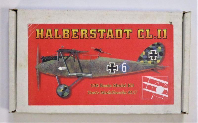 TOMS MODELWORKS 1/48 117 HALBERSTADT CL.II
