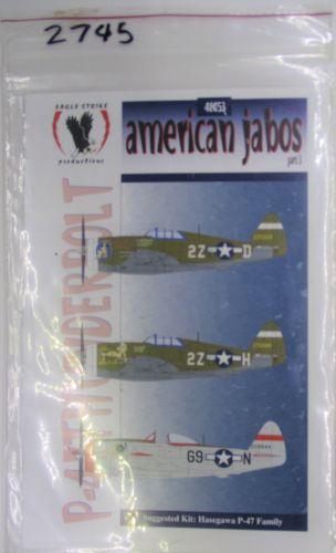 EAGLE STRIKE 1/72 2745 48053 american jabos part 3