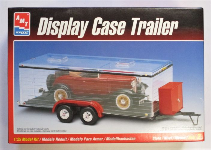 AMT 1/25 8216 DISPLAY CASE TRAILER