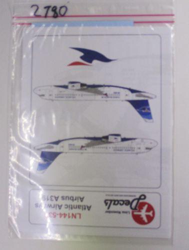 1/144 2780 LN144-539 ATLANTIC AIRWAYS AIRBUS A319