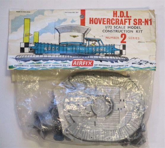 AIRFIX 1/72 287 H.D.L. HOVERCRAFT SR-N1
