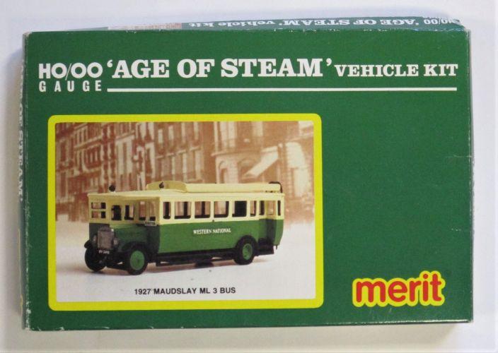 MERIT HO/OO 5133 1927 MAUDSLAY 3 BUS - AGE OF STEAM