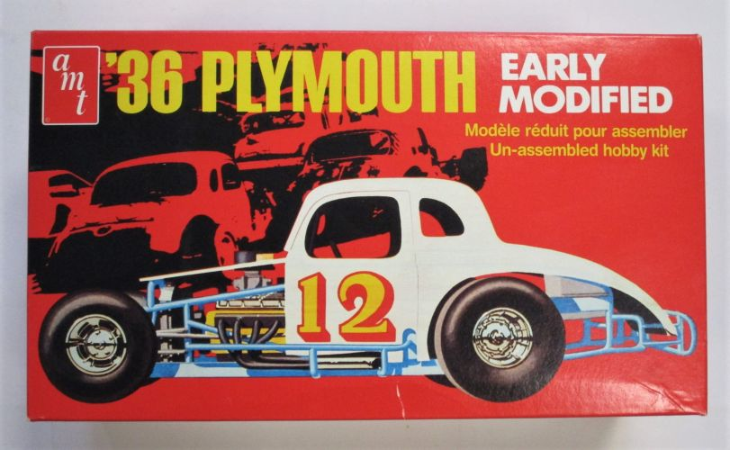 AMT 1/25 8667 36 PLYMOUTH EARLY MODIFIED