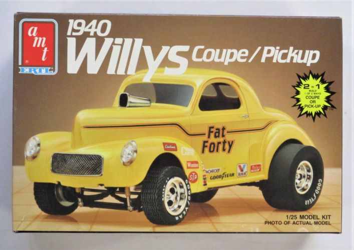 AMT 1/25 6544 1940 WILLYS COUPE/PICKUP