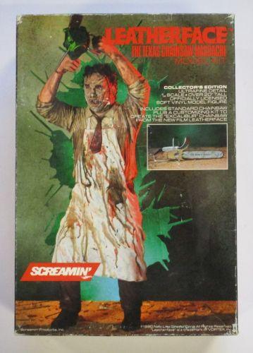 SCREAMIN MODEL KITS 1/4 600 LEATHERFACE THE TEXAS CHAINSAW MASSACRE