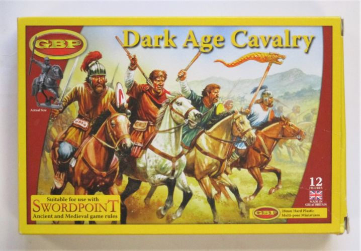 GBP  DARK AGE CAVALRY 28MM