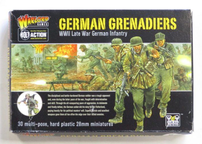 WARLORD  GERMAN GRENADIERS 28MM
