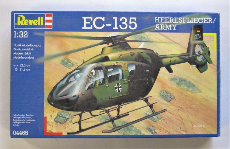 REVELL 1/32 04465 EC-135 HEERESFLIGER/ARMY