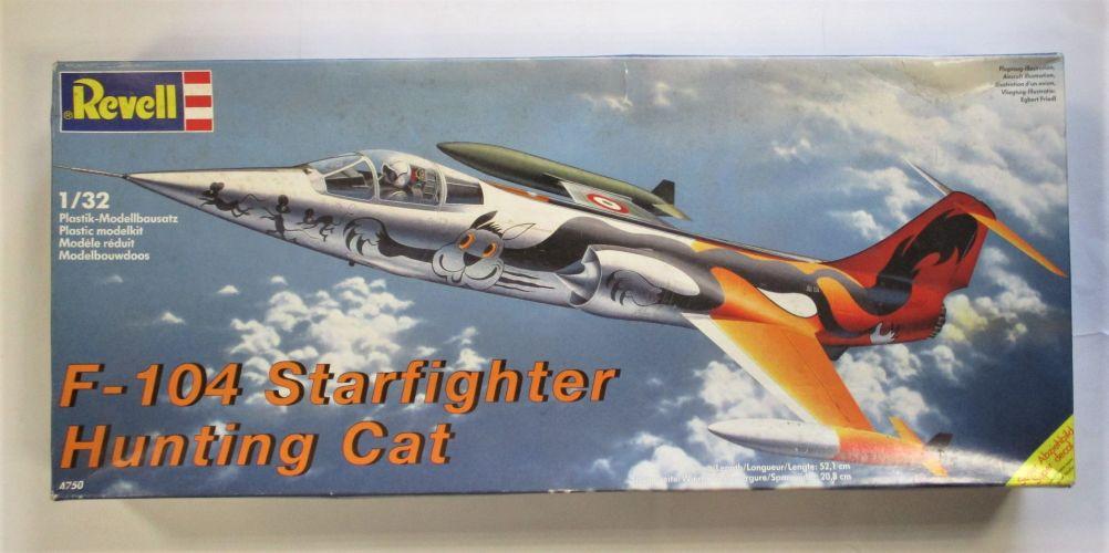 REVELL 1/32 4750 F-104 STARFIGHTER HUNTING CAT