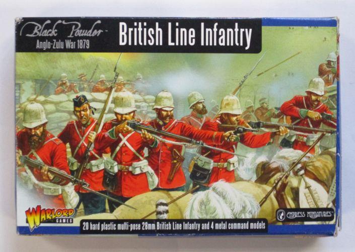 WARLORD  BRITISH LINE INFANTRY ANGLO ZULU WAR 1879 28MM