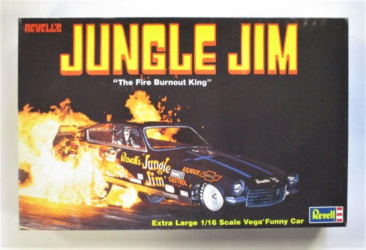 REVELL 1/16 0730 JUNGLE JIM THE FIRE BURNOUT KING