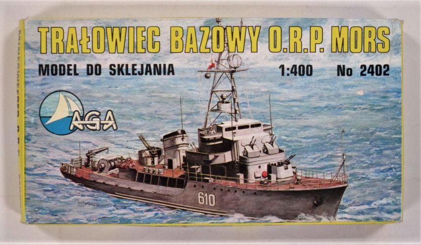 AGA 1/400 2402 MINESWEEPER O.R.P. MORS