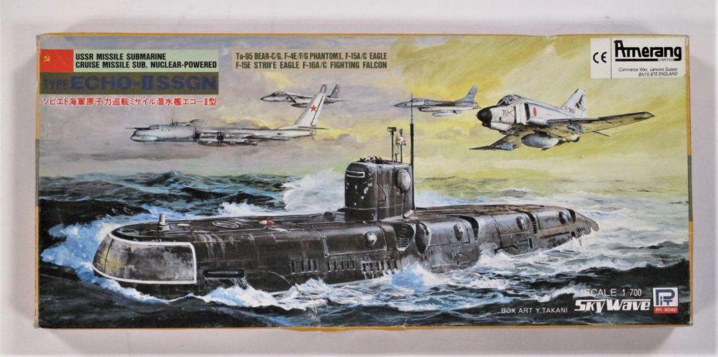 SKYWAVE 1/700 M-9 USSR ECHO II SSGN