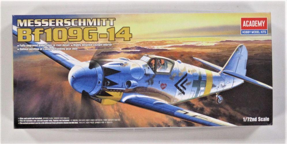 1/72 1653 MESSERSCHMITT Bf109G-14