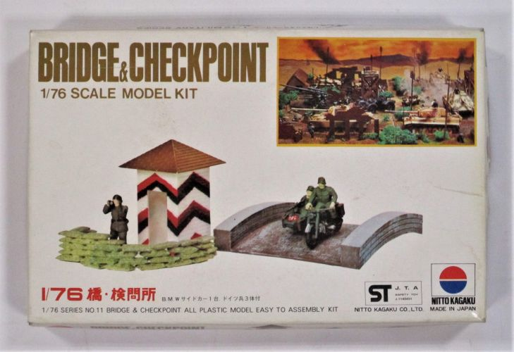 NITTO 1/76 451 BRIDGE AND CHECKPOINT