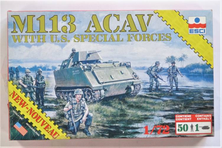 ESCI 1/72 8601 M113 ACAV WITH U.S. SPECIAL FORCES