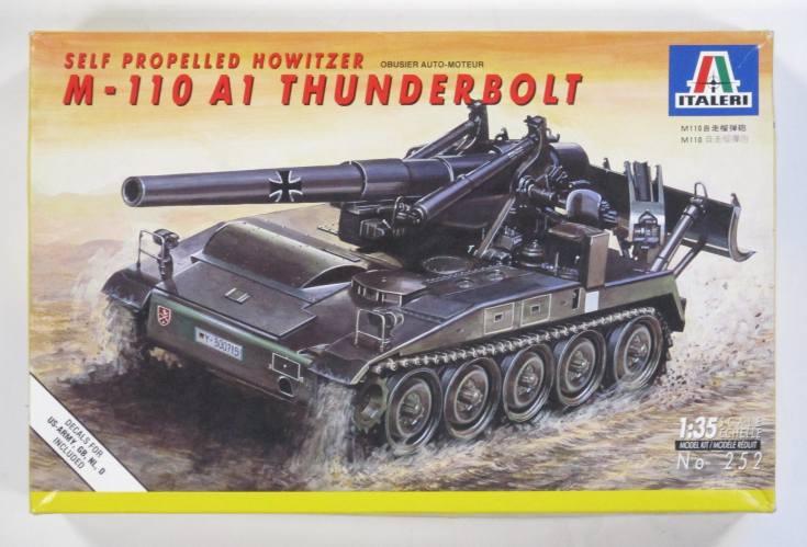 ITALERI 1/35 252 M-110 A1 THUNDER