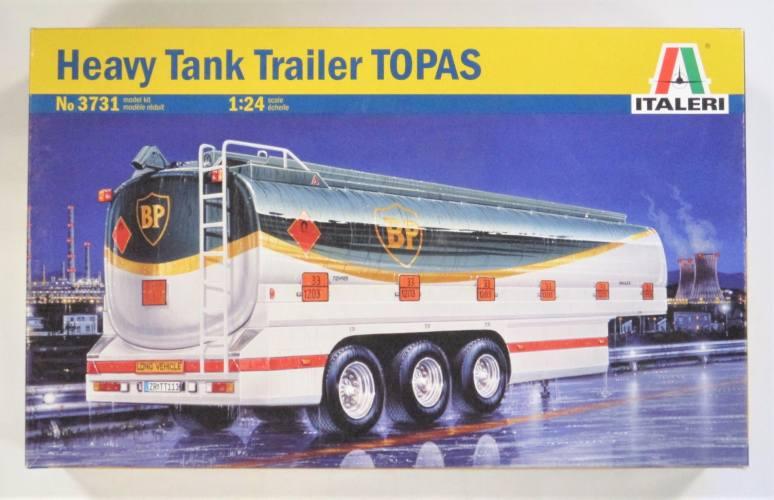 ITALERI 1/24 3731 HEAVY TANK TRAILER TOPAS