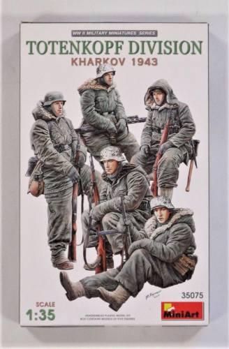 MINIART 1/35 35075 TOTENKOPF DIVISION KHARKOV 1943