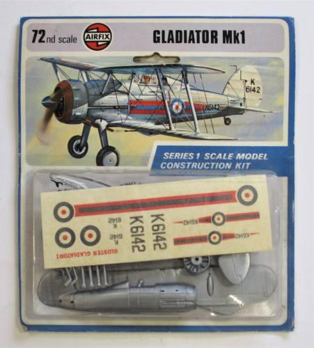 AIRFIX 1/72 01002 GLADIATOR MKI  BLISTER PACK