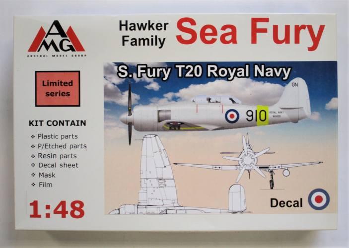 ARSENAL 1/48 48606 HAWKER FAMILY SEA FURY T20