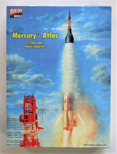 HORIZON 1/72 2002 MERCURY - ATLAS ROCKET