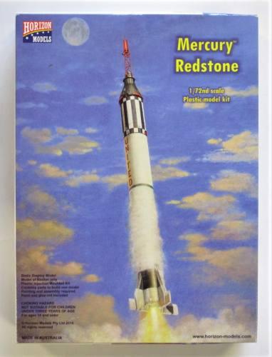 HORIZON 1/72 2004 MERCURY REDSTONE ROCKET