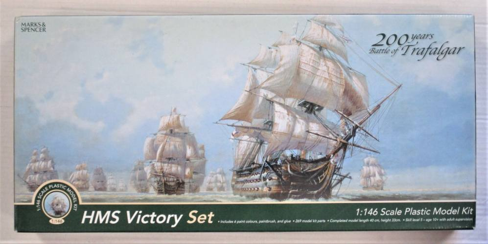 MARKS AND SPENCER 1/146 05758 HMS VICTORY SET