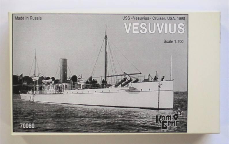 COMBRIG 1/700 70080 USS VESUVIUS 1890