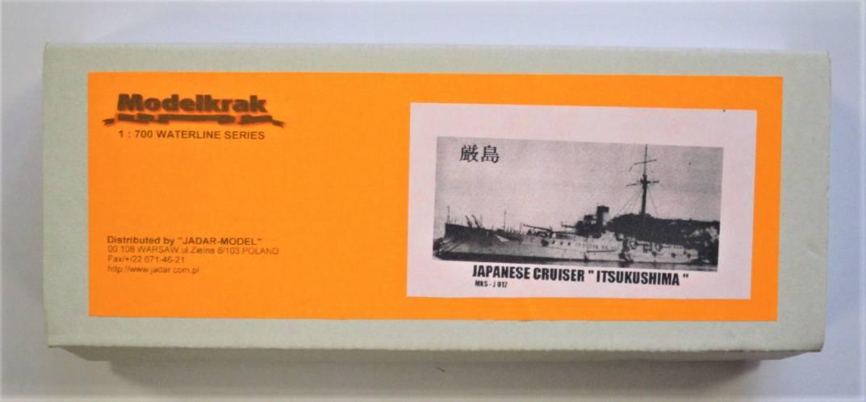 MODELKRAK 1/700 017 JAPANESE CRUISER ITSUKUSHIMA