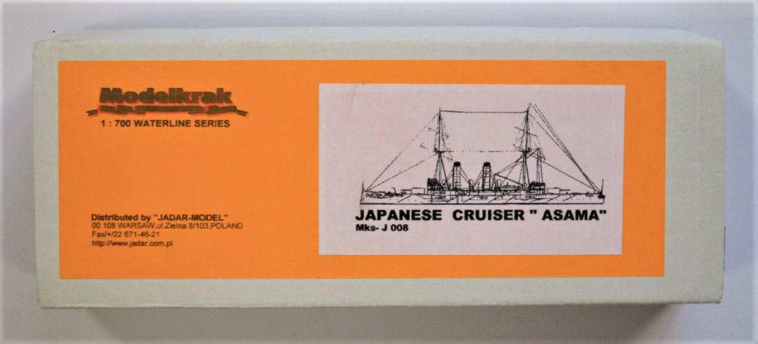 MODELKRAK 1/700 008 JAPANESE CRUISER ASAMA